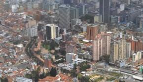 Panoramique d'une zone de Bogotá/ AFP