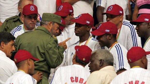 CUBA-CASTRO-BASEBALL-WORLD CLASIC