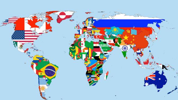 carte-monde-pays-drapeau