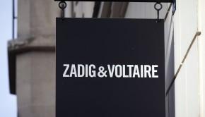 Source: AFP  Panneau Zadig et Voltaire