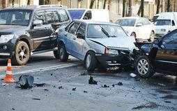 voiture crashée