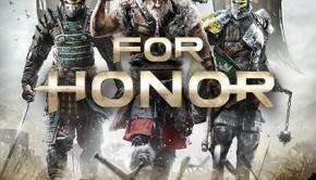 For Honor affiche du jeu Ubisoft 2017