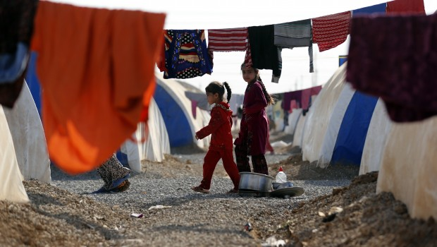 IRAQ-CONFLICT-MOSUL-DISPLACED