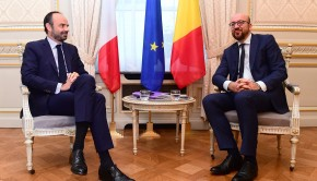 Rencontre Edouard Philippe - Charles Michel  Budget