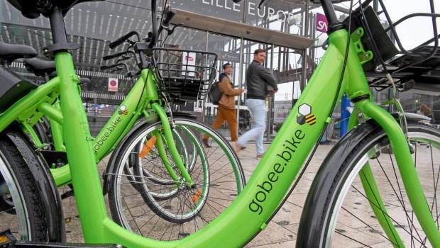 Gobee bike a Lille